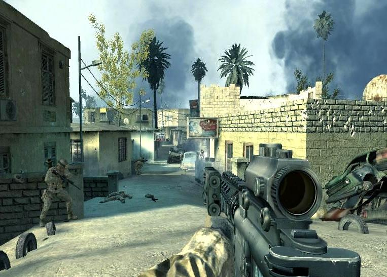 Download Скачать: Call of Duty 4: Modern Warfare version 1.7 (RUS/lo